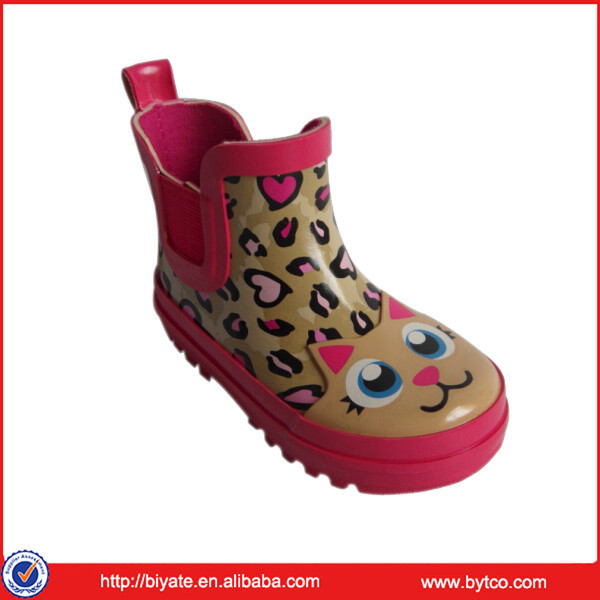 Cute, Popular , Short Ankle Rubber Rain Boots