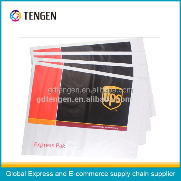 Custom UPS plastic shipping bags of manufacture in China