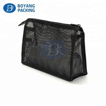 China Supplier EVA Mesh pouch customized Cosmetic Makeup Bag toiletry bag