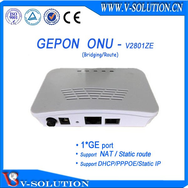 4GE+WIFI+ RF Port GPON CTAV ONU FTTH ONT IPTV Box with 300Mbps Wireless Routing Function