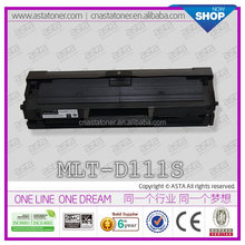 MLT-D111S compatible for samsung toner cartridge with chip