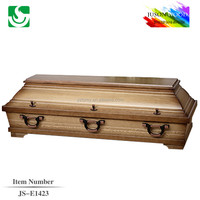 china wholesale funeral supplies colors of casket coffin