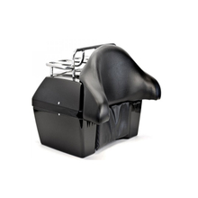 motorcycle box for DMY WITH TOP RACK AND BACKREST