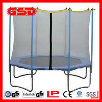 Cheap gymnastic trampoline with CE,GS