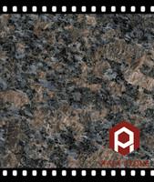 Import Saphire Brown Granite Slabs export for Countertops and Kitchen Top