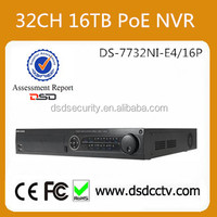 Hot Selling 32CH PoE NVR Hikvision With Newest Firmware V5.3.3 For IP Cameras Recording