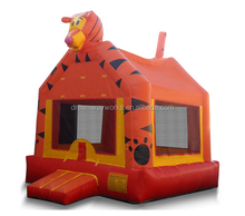 inflatable tiger bouncer with slide, inflatable mini bouncer for sale, inflatable bouncers for toddlers