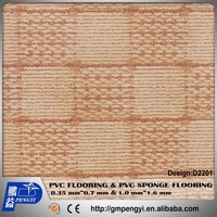 Factory Hot sale the thickness 1.0mm *1.83m*30m PVC sponge FLOORING INDOOR