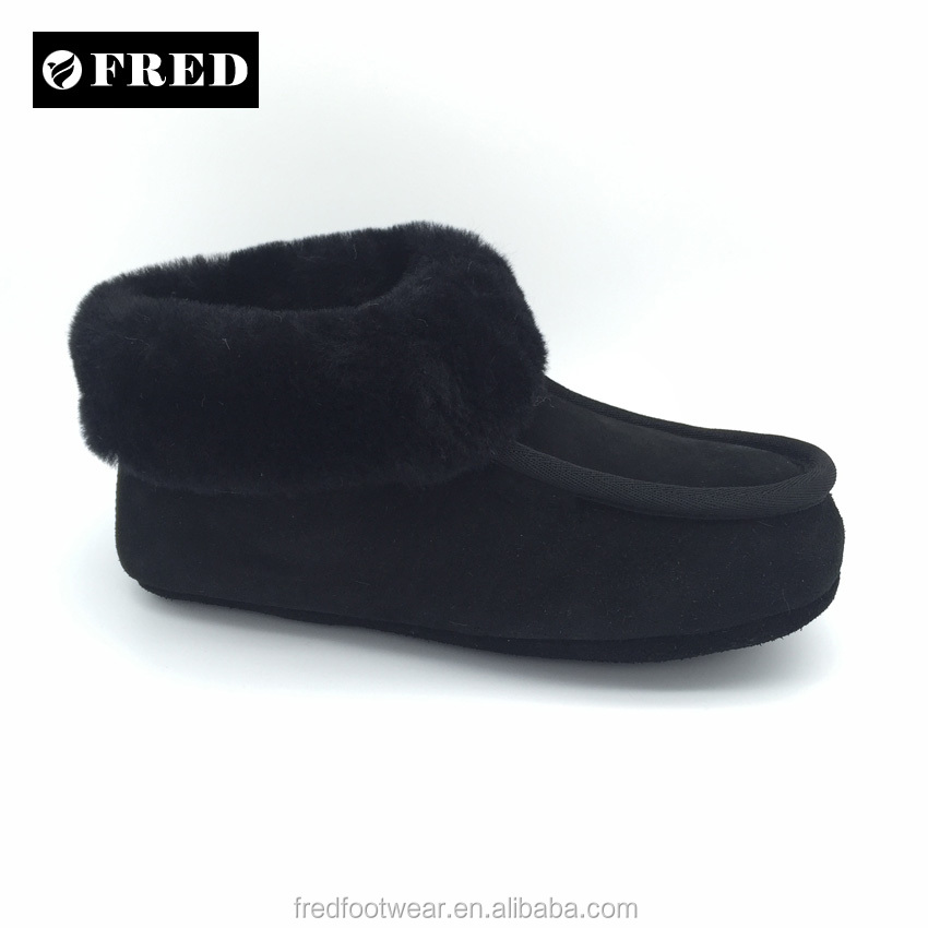 Good quality genuine Australia sheepskin slippers women