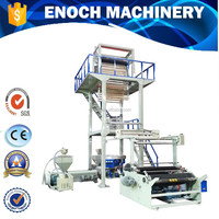High Speed Double Layer Plastic Film Machine For Bag Making Machine