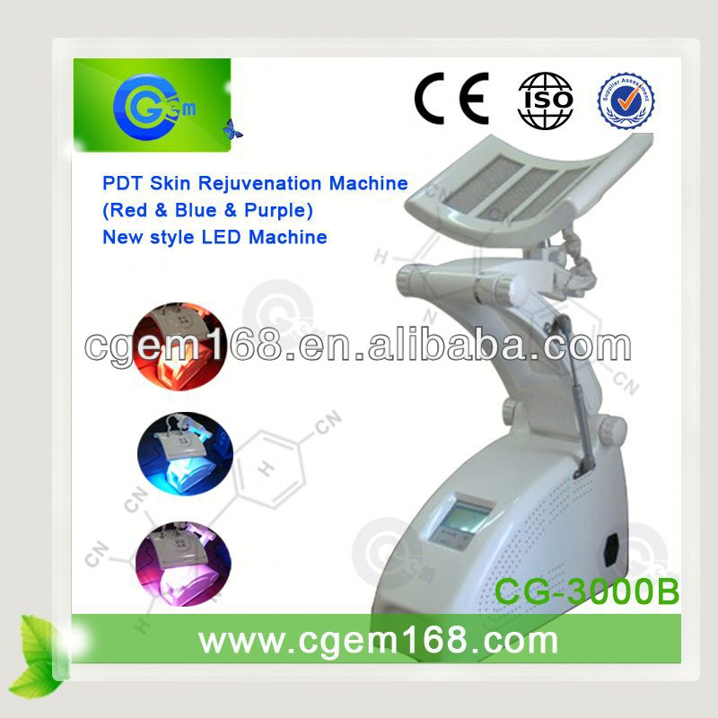 red and blue color PDT omnilux revive skin beauty machine equipment for acne treatment