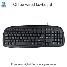 High quality multi language wired USB Keyboard