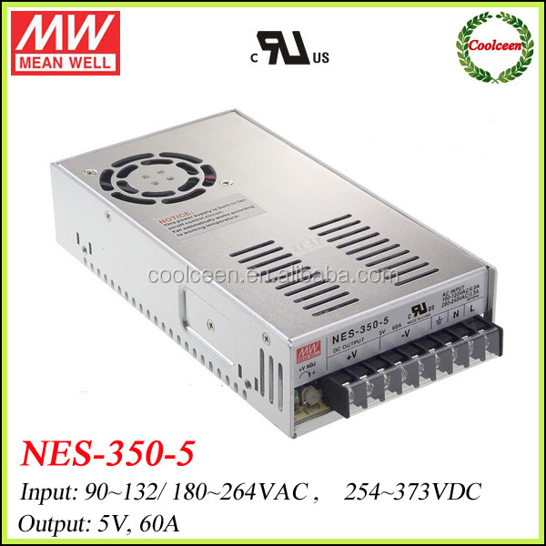 Meanwell NES-350-5 300w single output switch mode power supply