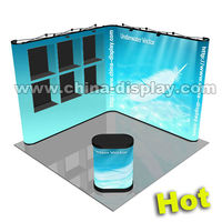 Pop up tradeshow booth design