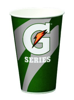 Wholesale Gatorade Paper Cups - 7oz. Waxed Paper Cups 2000/cs: