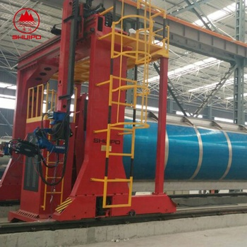 tank girth seam automatic welding machine automatic welding machine production line for fuel tanker