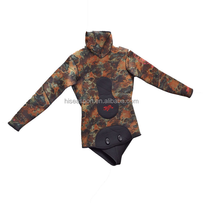 Neoprene high quality spearfishing, fishing wetsuit
