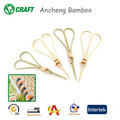 round barbecue bamboo roasting sticks heart-shaped skewer