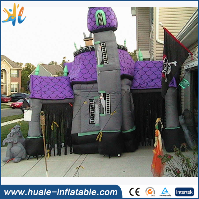 2017 hot halloween inflatable haunted house for sale buy halloween inflatable