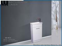 1522 modern design white MDF bathroom cabinet