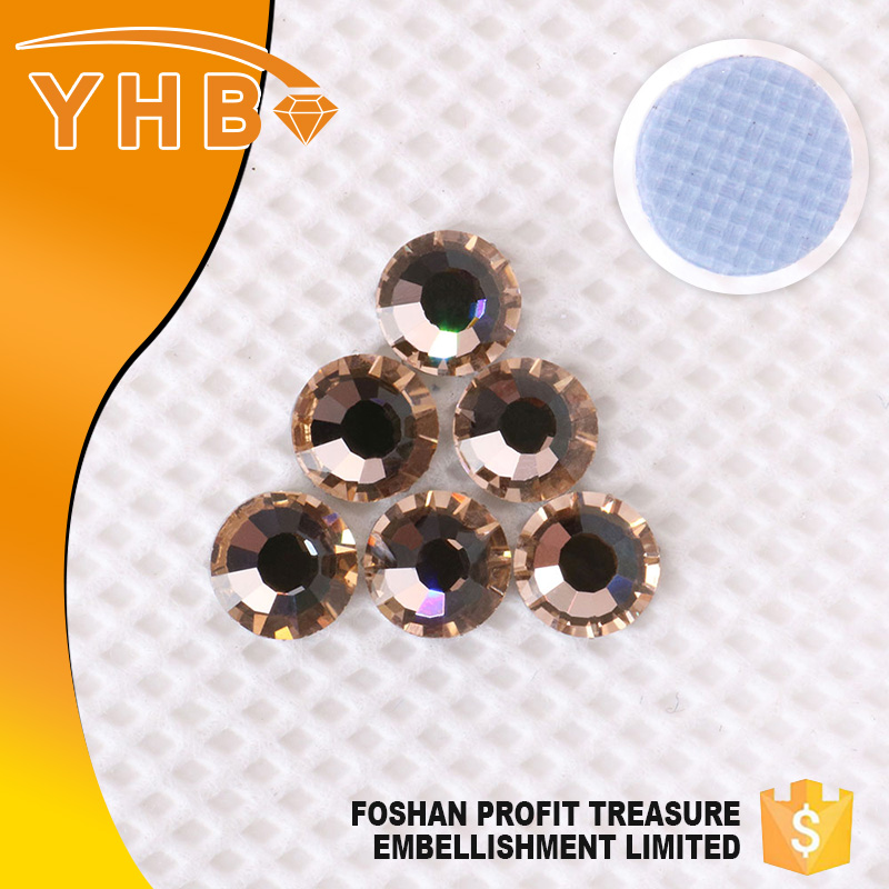 Wholesale Chinese high quality ss16 glass rhinestone beads