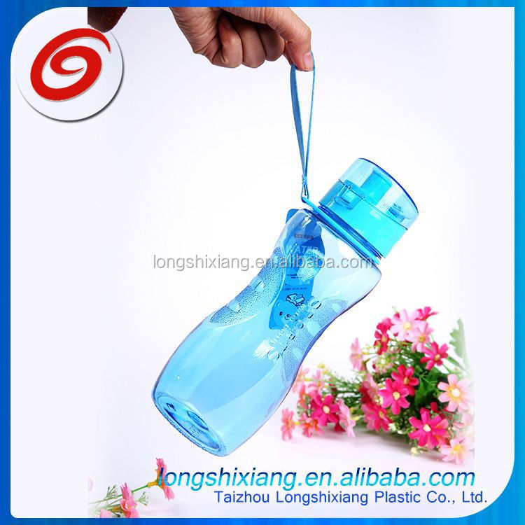 2015 18 oz acrylic clear double wall clear plastic water bottle