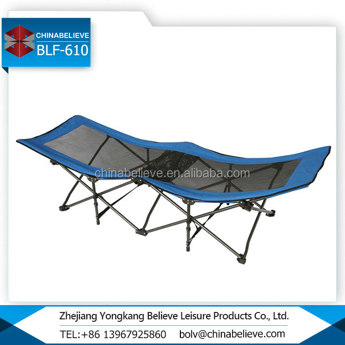 Supplier Best Price Army Portable Folding Bed for Travel Use