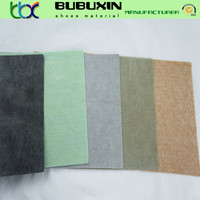 Non-woven imitation leather for shoe/bag lining fabric