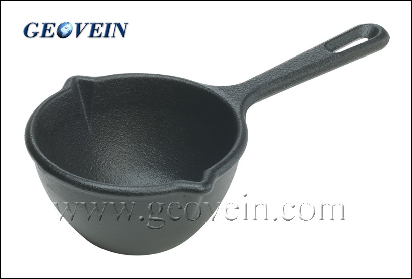 Enamel Non-stick Cast Iron Coffee Milk Sauce Pot With Handle