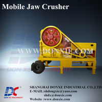 High quality small portable stone crushers, jaw crusher manufacturers mobile stone crusher
