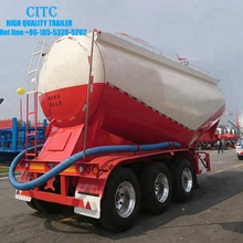 best selling carton steel dry powder bulk cement bulker tank tanker semi trailer