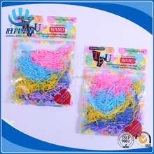 TPU silicone colorful elastic hair band