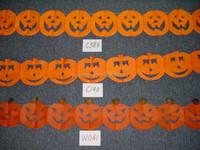 paper garland for halloween