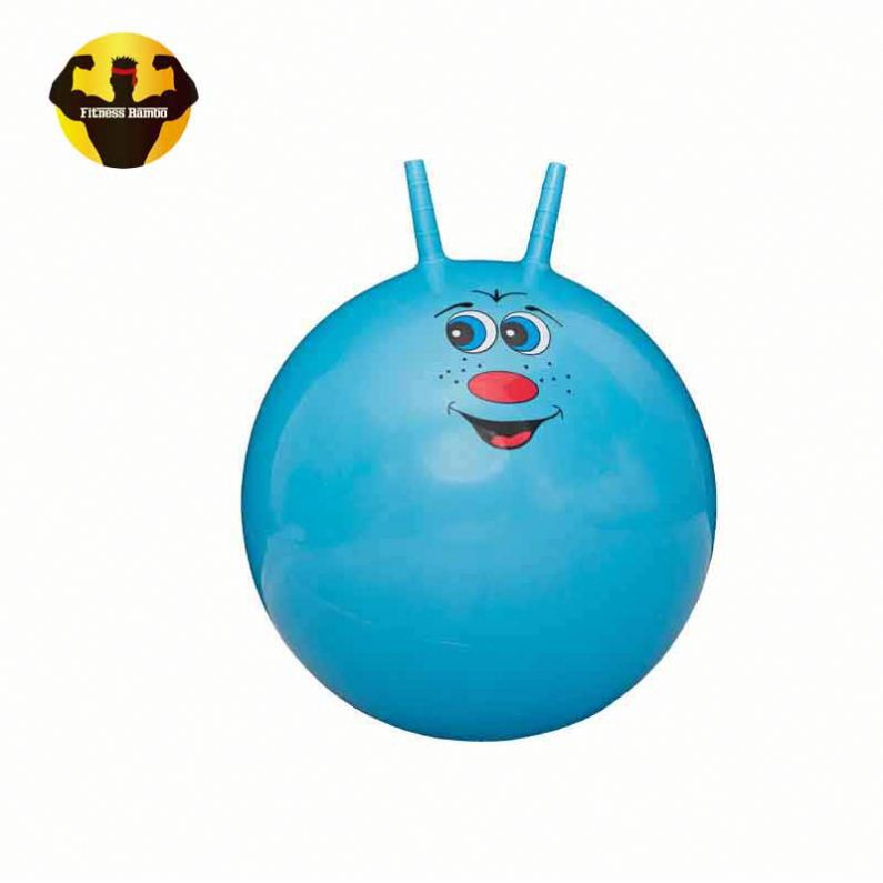 RAMBO Durable With Handle Space Hopper Pvc Jumping Ball Jump Ball Toy Ball
