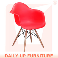 Charles Ray Ames Chair Eiffel with Wooden Base Cheap Living Room Modern Emes Chair with Armrest For Sale Garden