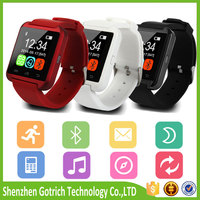 Wholesale cheap health care bluetooth u8 smart watch for smartphones