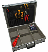 Aluminium Toolbox with Foam Lining Empty Vehicle Workshop Case 460x340x150