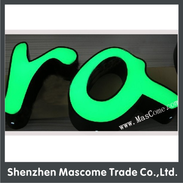 Led Sign Material Advertising Business Letter