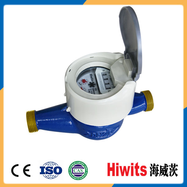 Class B Automatic Plastic Cover Smart Electricity Vane Wheel Commercial Water Meter