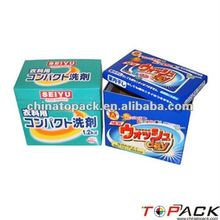 Customized Washing Powder Paper Box(TP-PB6147)