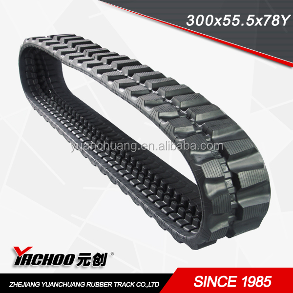 rubber track (300*55.5*L.INKS)