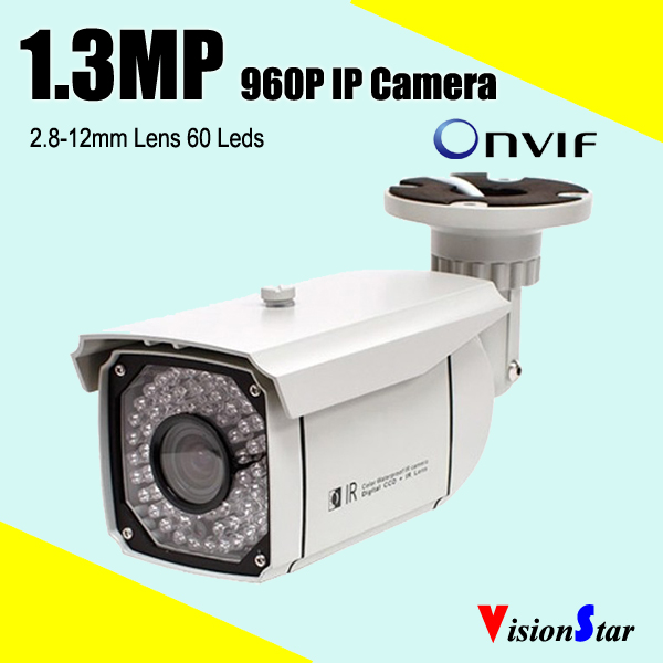 Best selling products 1.3mp 960p network ip camera system onvif 60pcs leds zoom lens surveillance video digital camera