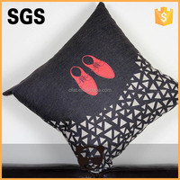 2015 new arrival heat fransfer printing custom flat cushion cover never fadeless