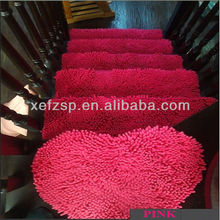 thick pile foot massage microfiber runner corridor carpet