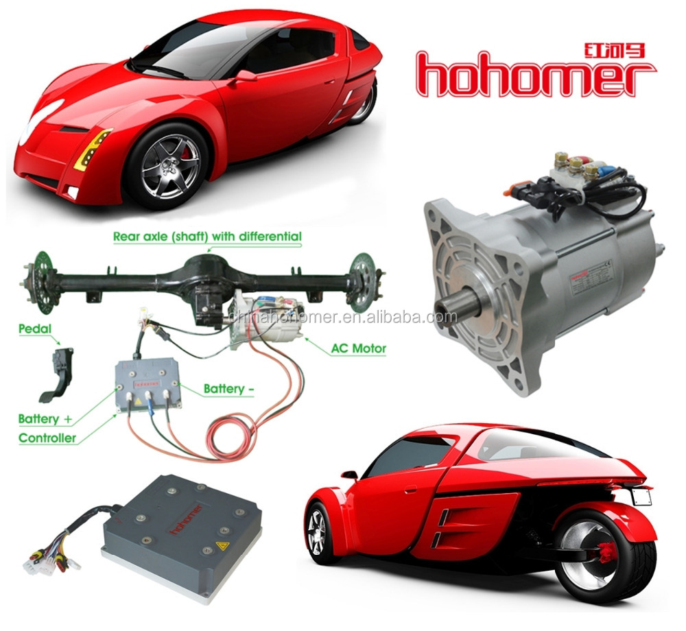 E-TRANSPORT 15KW EV CONVERSION KIT SET1 TRICYCLE HIGH SPEED RACER ELECTRIC VEHICLE