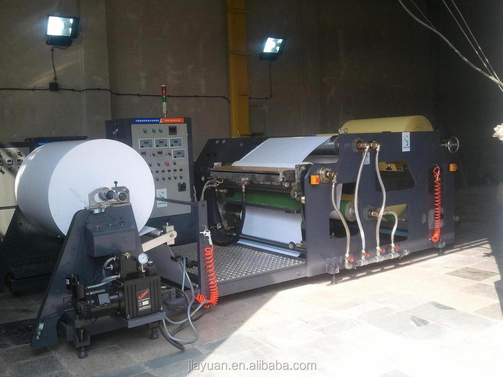 Wenzhou jiayuan JYT-B Double Side Foam Tape hot melt adhesive Coating Machine for double side tape, foam tape, adhesive tape