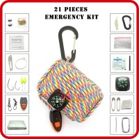 camping gear paracord grenade survival kit wholesale