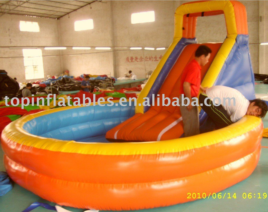 Inflatable Pool Slide Intex top inflatable slide pool/swimming pool/intex pool slide - buy