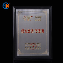 a4 acrylic cheap wholesale cardboard certificate frame