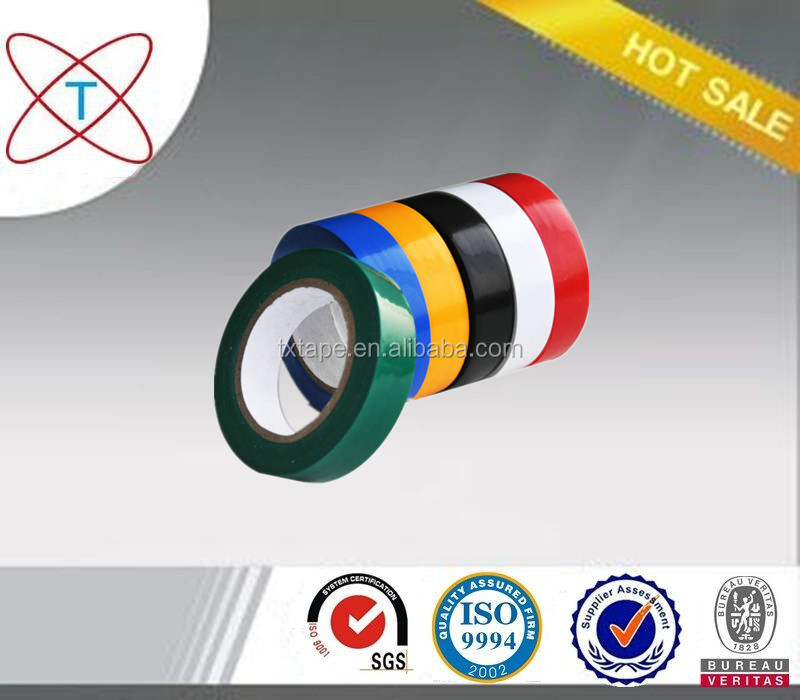 Hotsale synthetic rubber adhesive insulation PVC electrical tape